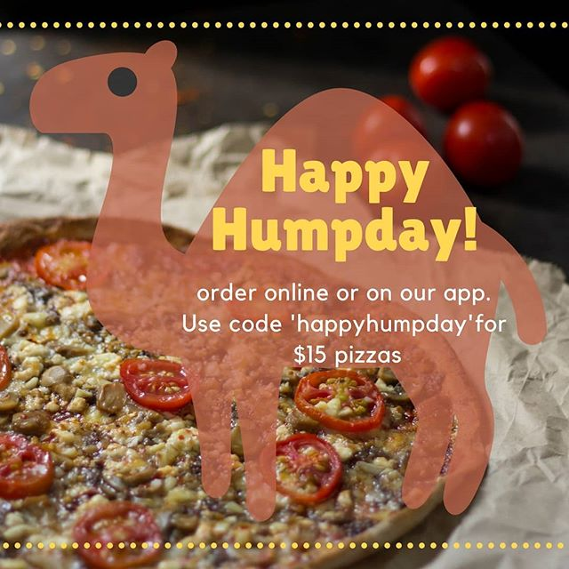 Get through your Wednesday the right way with $15 pizzas #humpday #pizza #special #happyhumpday #orderonline #theroxapp www.theroxburgh.com.au