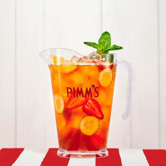 Nothin' better then a cold refreshing Pimms jug in the courtyard! $20 and it's yours! ...#pimms #jug #hotarvo #laneway #pizza #wegotyou #summer #pimmsjug #drinkswithfriends #roxburghhouse