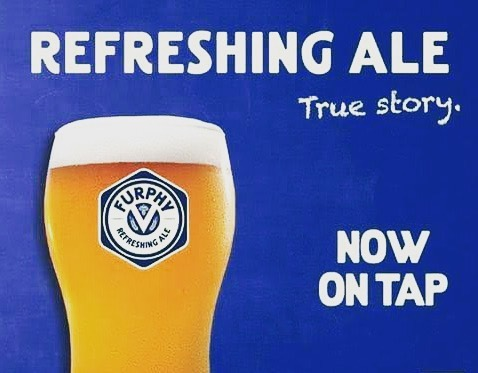 Now pouring furphy! What better way to welcome summer! ....#furphy #littlecreatures #roxburghhouse #craftbeer #summer #coldon #beer #beerandpizza #tapbeer #bar #laneway #courtyard #alfrescodining #hamilton
