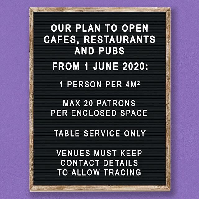 Here it is guys! The plan to reopen dining in! For us to do this we will only be allowing guests to dine in IF they have reserved a table through our online booking facility available on our website from 1st of June. We understand how this can be frustrating but we all need to play our part so that we can return to business as usual! Links to our booking service will be available below! 🪑 https://theroxburgh.com.au/contact/ ..#roxburghhouse #roxburgh #thenewnormal #reopening #dinningin #hamilton #bookingsessential #doingourpart